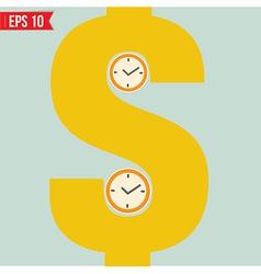 Time is money - - EPS10 vector
