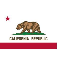 usa state california vector image