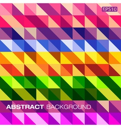 Colorful geometric pattern for your design vector image
