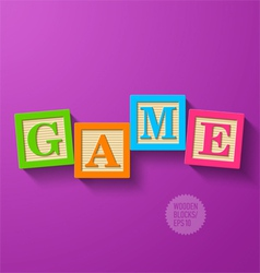 Game vector image vector image