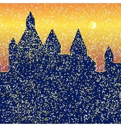 Castle bright vector image