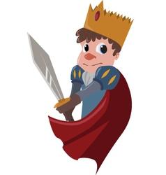 prince vector image vector image