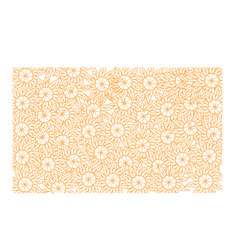 flower background template vector image