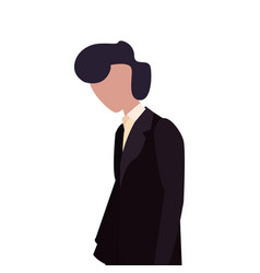 man avatar character vector image