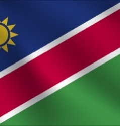 Namibia flag vector