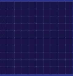seamless grid for futuristic hud interface pattern vector image