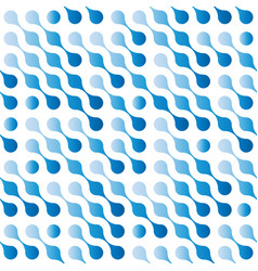 abstract seamless pattern background of blue vector image vector image