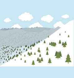 mountains2 vector image vector image