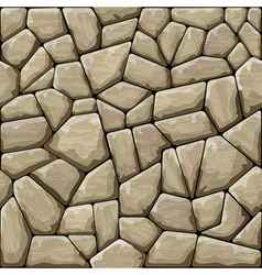 Brown stone seamless pattern vector