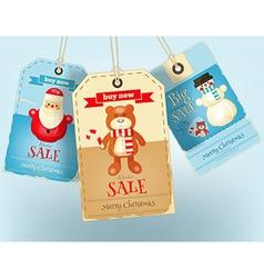 Christmas Sale Tags vector
