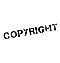 Copyright rubber stamp vector