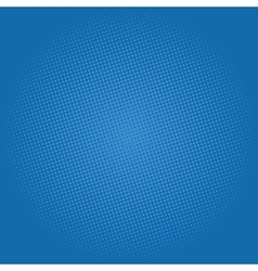 Dots on Dark Blue Background Pop Art Background vector image