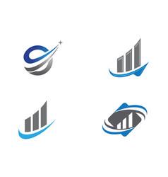 Finance professional logo template vector