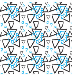 Hand drawn pattern background vector