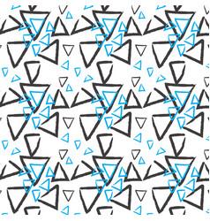 Hand drawn pattern background vector