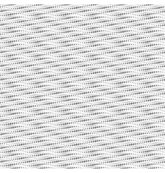 Wavy repeating dots pattern Seamless vector image