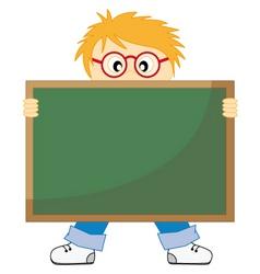 boy school vector image