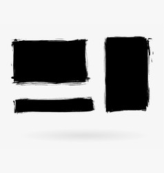 grunge elements set vector image