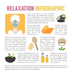 Woman in beauty spa salon SPA and relaxation vector image