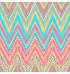 Aztec zigzag vector image