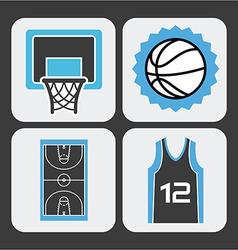 Basketball sport vector