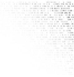 Binary code internet security concept vector