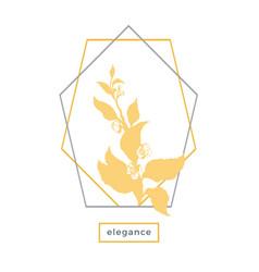 design symbol nature vector image
