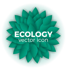 ecology concept vector image