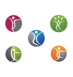 human health symbol vector image