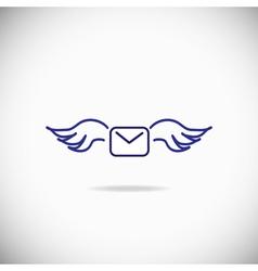 Sending Message Icon vector