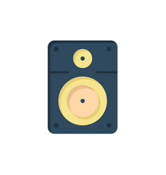 Speaker loud music education flat color icon icon vector