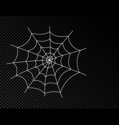 spider web cobweb icon spiderweb border vector image