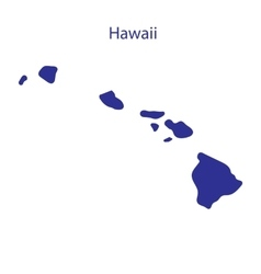 United States Hawaii vector image