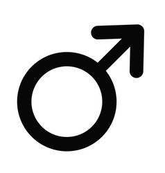 Male gender icon vector
