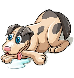 A dog vector