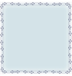 blank frame banner template vector image