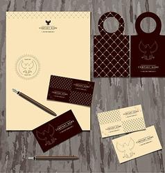 Brandbook of the company vector