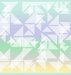 Colorful triangles composition background vector