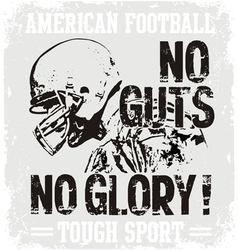 Football guts vector