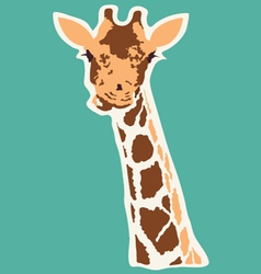 Giraffe abstract vector