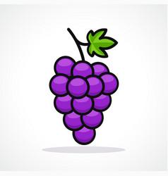 Grapes design icon vector