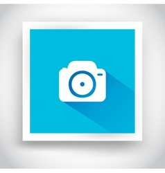 icon camera for web and mobile applications vector image