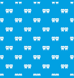 implant pattern seamless blue vector image