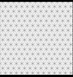 Modern sacred geometry seamless pattern vector