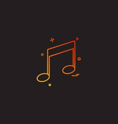 music player media icon vector image