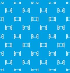Open window frame pattern seamless blue vector