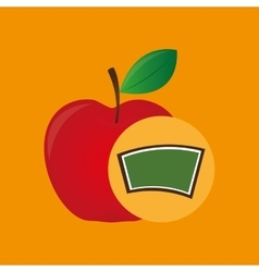 school board icon apple design vector image