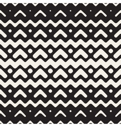 Seamless Chevron ZigZag Rounded Lines vector image