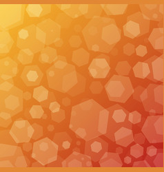 sunny geometric abstract techno background with vector image