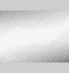 Abstract light grey and white background vector